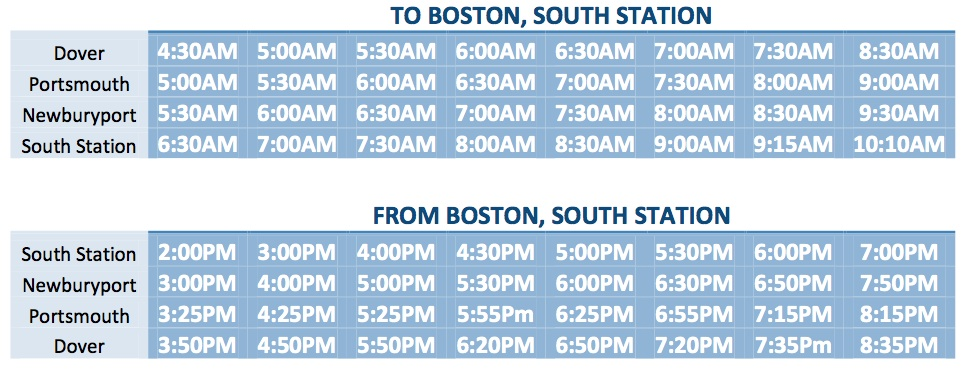 South Station Bus Service - Labor Day