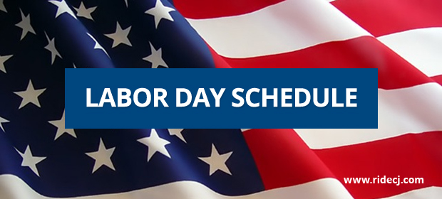 Labor Day Bus Schedule