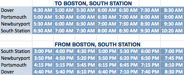 Columbus Day Boston Bus Schedule