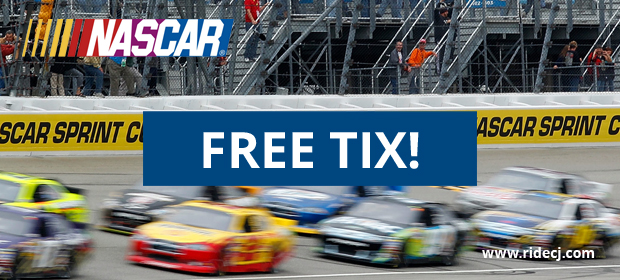 C&J Riders Can Win Free Nascar Tickets