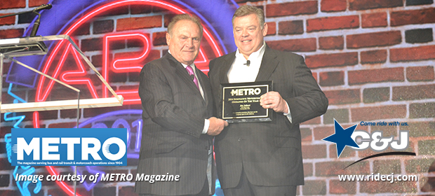 C&J CEO Named Innovative Motorcoach Operator of the Year