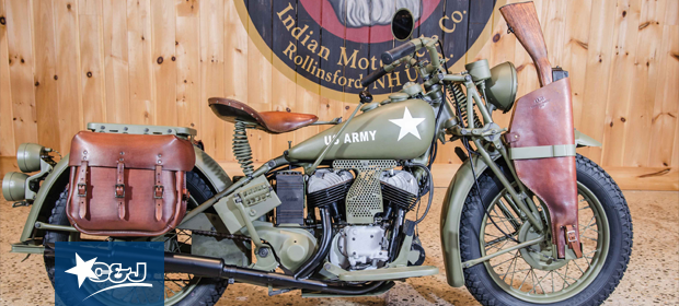 C&J Donates Motorcycle to Veteran's Count