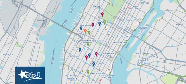 Interactive Map Of New York City.Explore Manhattan With C J S Interactive New York City Map C J