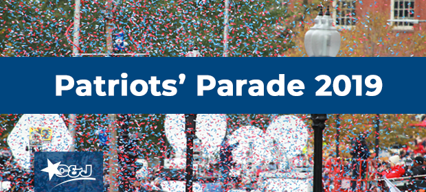 2019 Patriots' Super Bowl Victory Parade