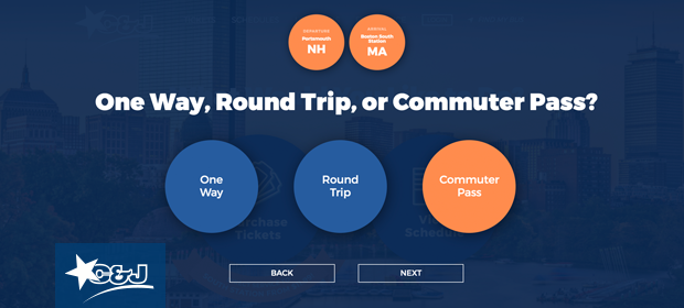 Buy C&J Commuter Passes Online