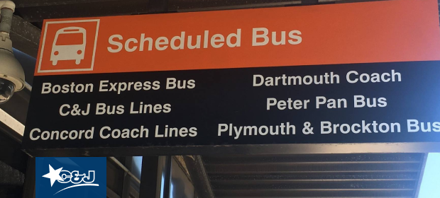 Where to Catch the Bus at Logan Airport